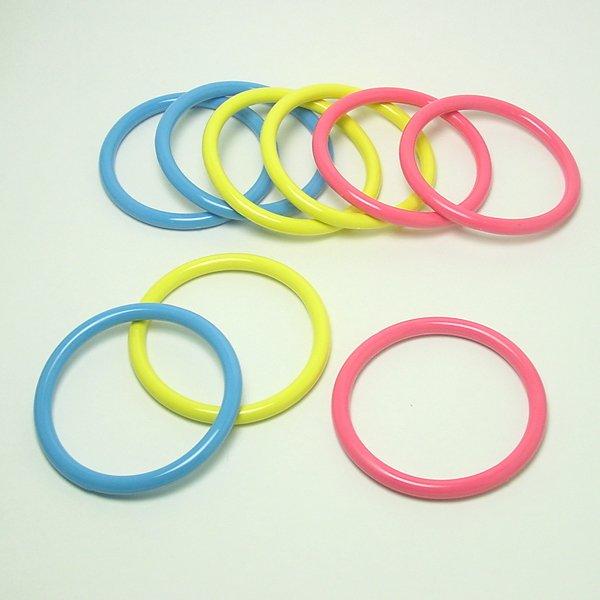 画像1: 輪投げゲームの追加用投げ輪 9ヶセット (1)