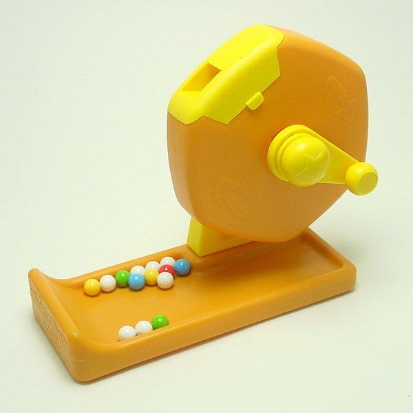 画像1: プラ製福引回転抽選器 (1)
