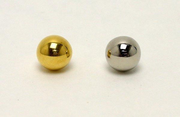 画像1: 回転抽選器の玉 金・銀 (1)