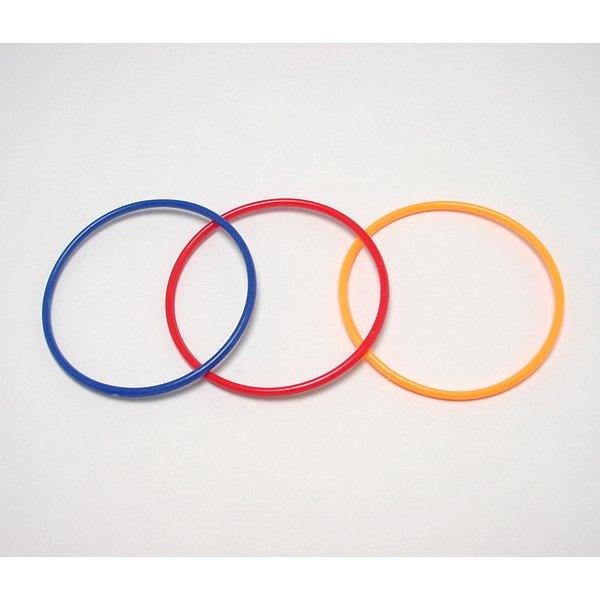 画像1: 輪投げ用輪 プラスチック 3ヶセット (1)