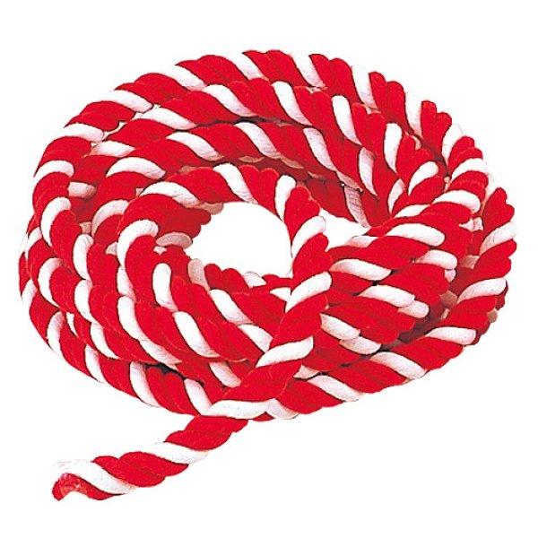 画像1: 紅白ロープ 20mm 1mあたり (1)