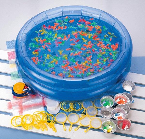 画像1: おもちゃ金魚すくい縁日セット 400ヶ入り (1)