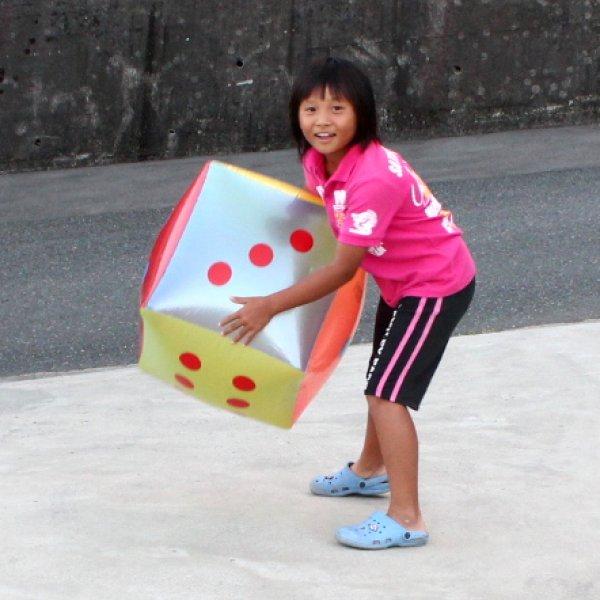 画像1: サイコロ 45cm角 (1)