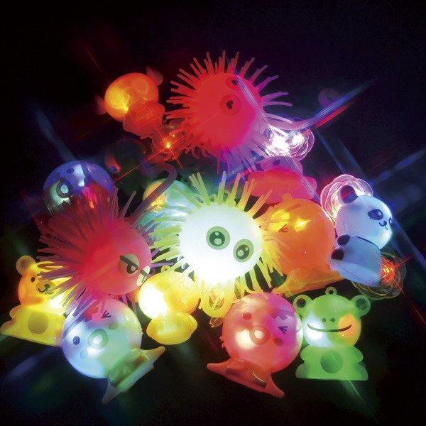 画像1: UFOキャッチャー景品 光るおもちゃ 100ヶセット (1)