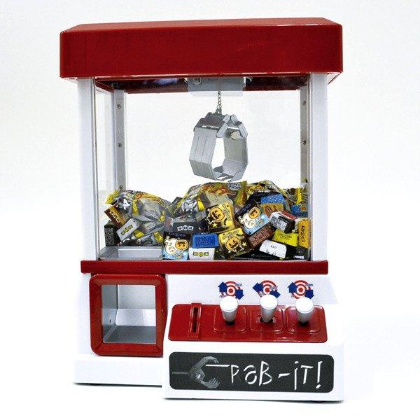 画像1: クレーンゲーム機+ハロウィンチロルチョコ108ヶ+おまけお菓子30ヶ (1)