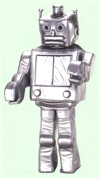 画像1: 大人用 着ぐるみ[きぐるみ] ロボット (1)
