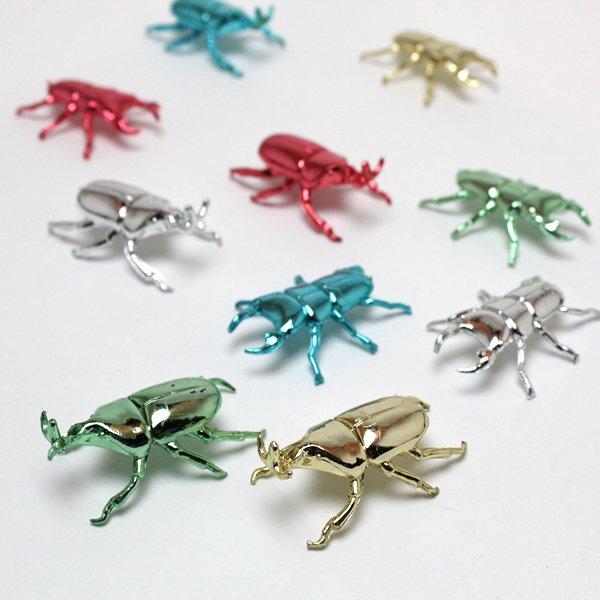 画像1: すくい用おもちゃ キラキラ昆虫 100ヶセット (1)