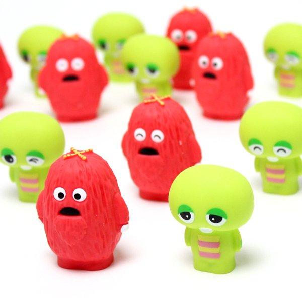 画像1: すくい用おもちゃ ガチャピン・ムック人形 50ヶセット (1)