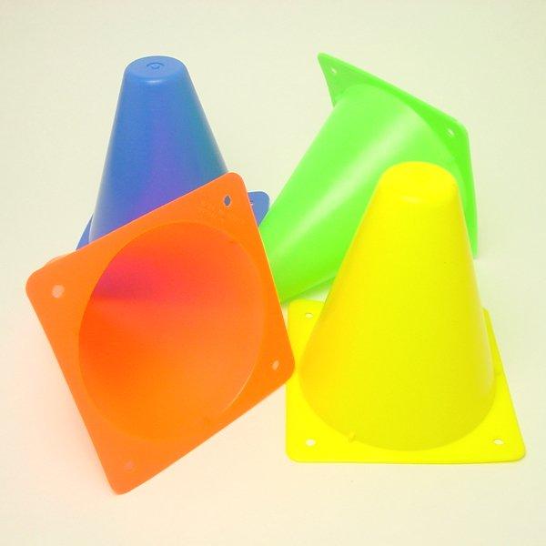 画像1: 三角コーン 10ヶセット (1)