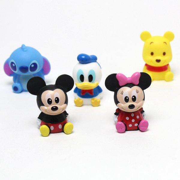 画像1: 営業日午前注文即日発送 後払いOK すくい用おもちゃ ディズニーキャラクター人形 50ヶセット (1)