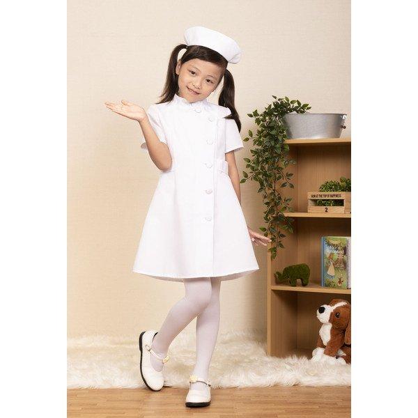 画像1: 子供コスチューム ナース (1)
