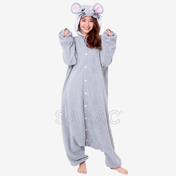 画像1: 大人用 干支 子 ネズミのスーツ (1)