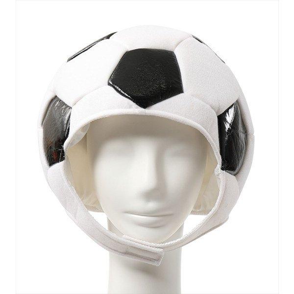 画像1: 大人用 かぶりもの サッカー (1)