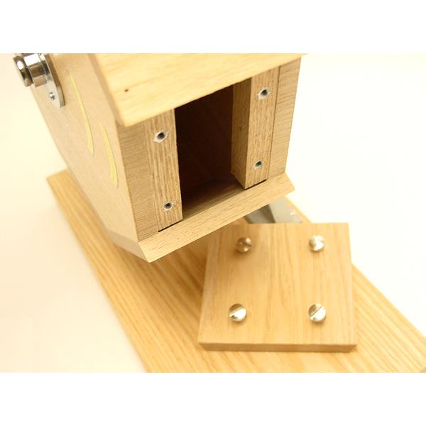 木製福引回転抽選器 32cm 広口                                        [25001]